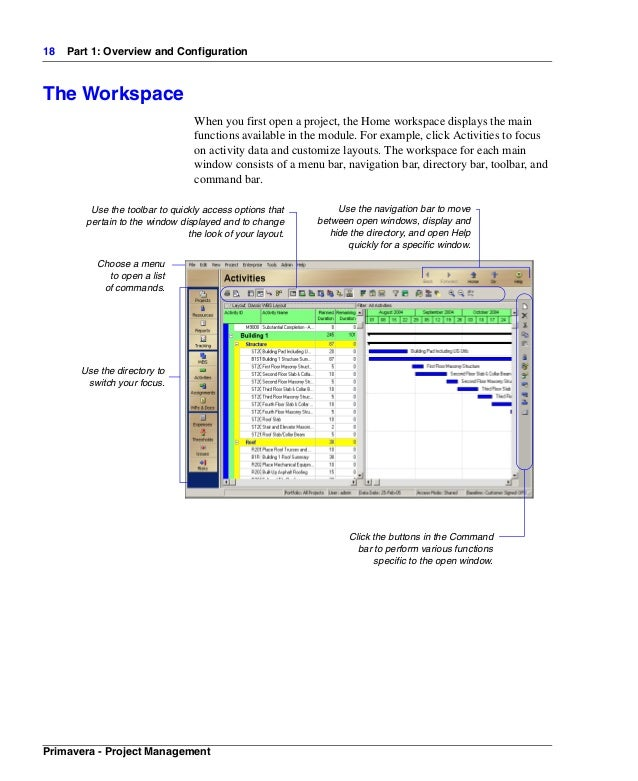 primavera manual rh slideshare net manual primavera project planner primavera project manual