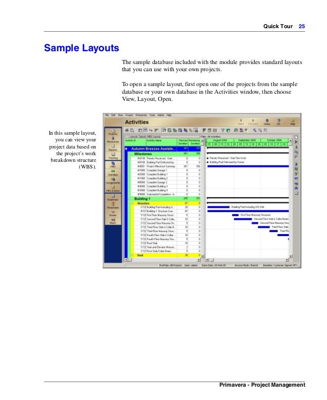 primavera manual rh slideshare net Primavera vs Microsoft Project 2010 manual primavera project planner