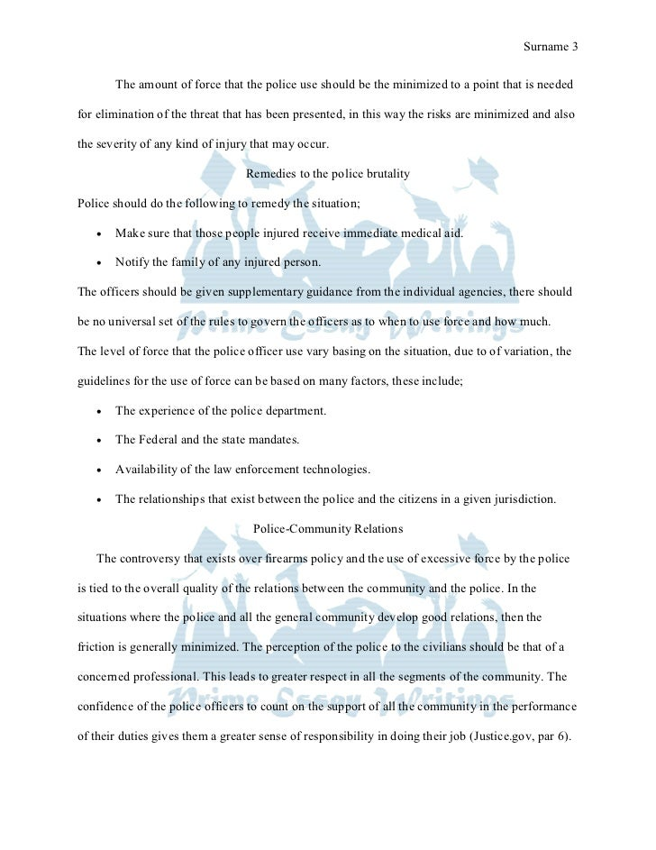 prime essay writings term paper excessive use of force by police 3 prime essay