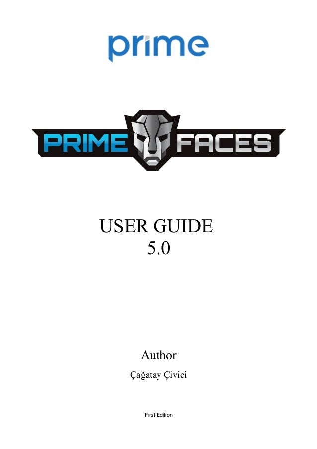 PrimeFaces User Guide 5.0