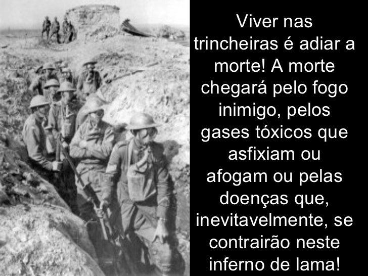 Primeira Guerra Mundial Depoimentos De Soldados Sobreviventes