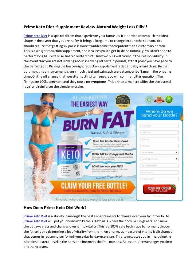 Prime KetoDiet:Supplement Review-Natural Weight Loss Pills!! Prime KetoDietisa splendiditemthatexperienceyourfantasies.Iti...