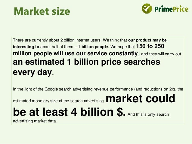 Competitors Why Us  P  R  E  S  E  N  T  There are only online shop price comparison  services (like pricegrabber.com) and...
