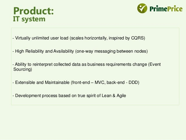 Product:  Data collection  Partnership – Our system, the seller's warehouse, and marketing systems will be  integrated. Th...