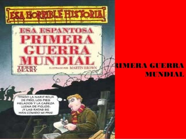 PRIMERA GUERRAMUNDIAL