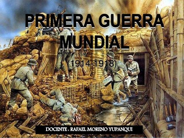 DOCENTE : RAFAEL MORENO YUPANQUI (1914-1918)