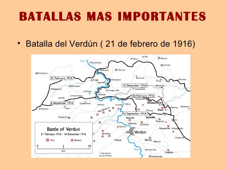 Batalla De Verdun Mapa.Primera Guerra Mundial Presentacion De Historia 1 Sofia
