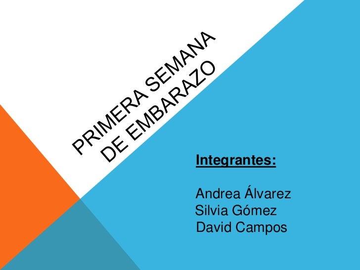 Integrantes:Andrea ÁlvarezSilvia GómezDavid Campos
