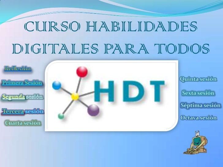 CURSO HABILIDADESDIGITALES PARA TODOS