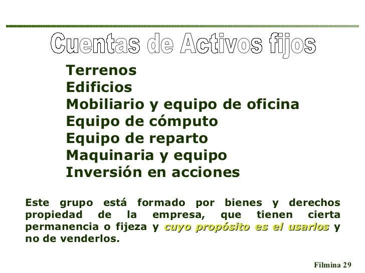 Cargo y abono de cuentas de activo fijo kinked for Mobiliario de oficina definicion