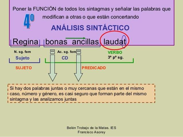 Pasos Para Traducir Latín 1ª Declinacion