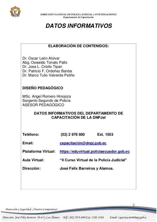 MARCO LEGAL - \