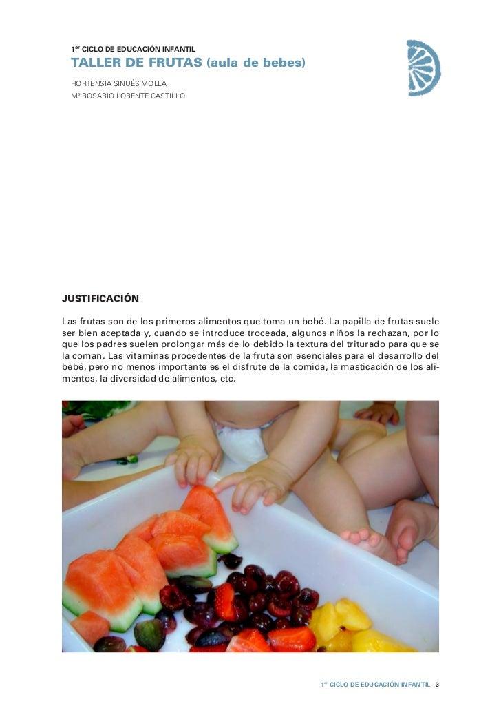 Primer ciclo taller de frutas (1 2 años) Slide 3