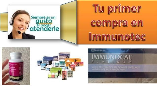 Immunotec se ha reservado todo lo relacionado a la comercialización de sus productos y no incentiva a quienes ya usan Immu...