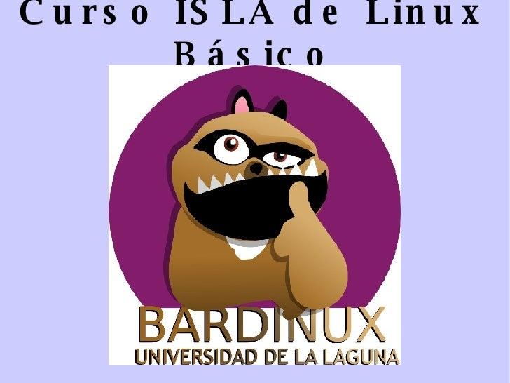 Curso ISLA de Linux Básico