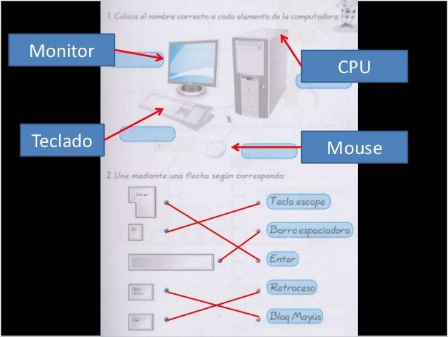 . Monitor CPU Teclado Mouse