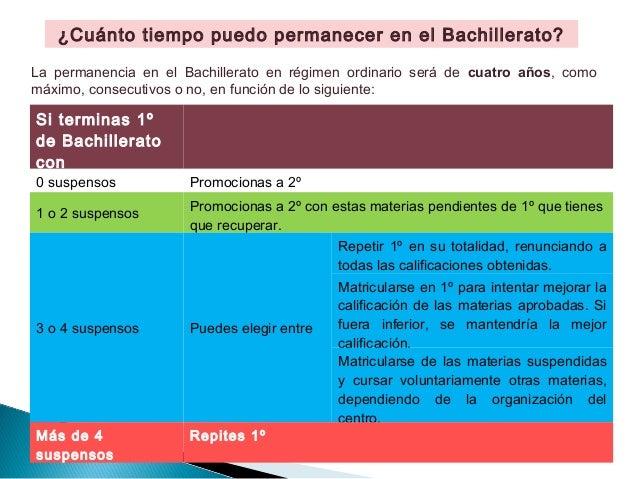 ¿Qué hacer después de 1º de Bachillerato? Slide 3