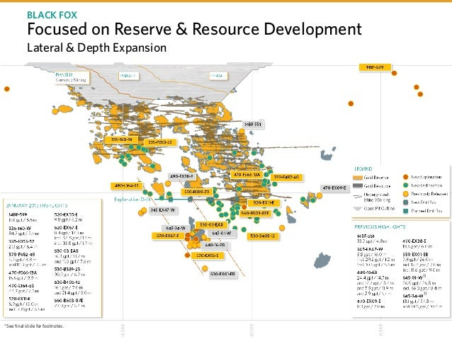 TSX P I NYSE PPP I Focused on Reserve & Resource Development Lateral & Depth Expansion BLACK FOX 11 11 *See final slide fo...