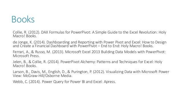 Primer on Power BI 201506