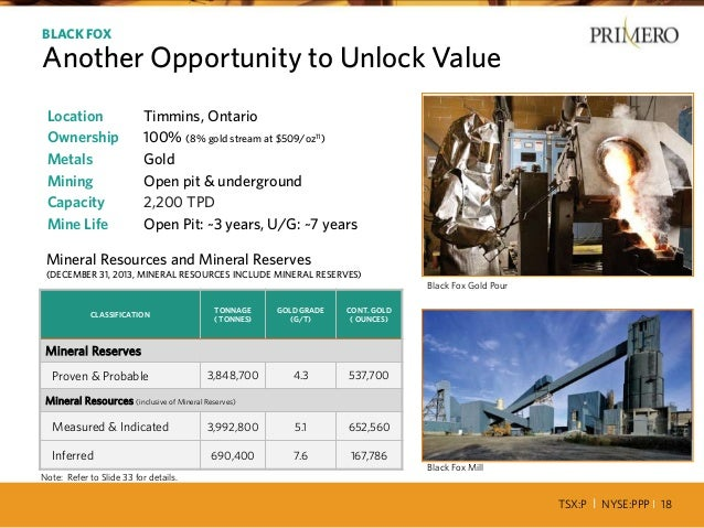 TSX:P I NYSE:PPP I 18 Location Timmins, Ontario Ownership 100% (8% gold stream at $509/oz11) Metals Gold Mining Open pit &...