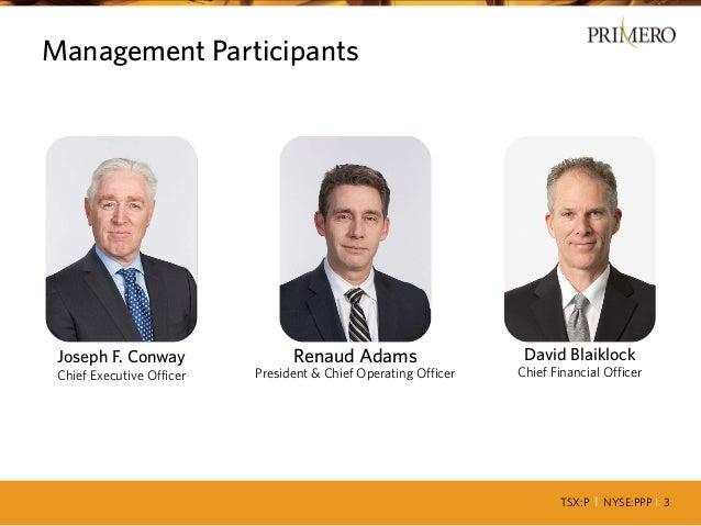 Primero q2 2014 presentation Slide 3
