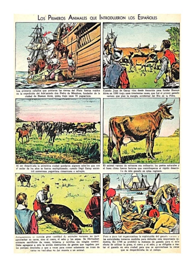 Primeros animales que trajeron los españoles
