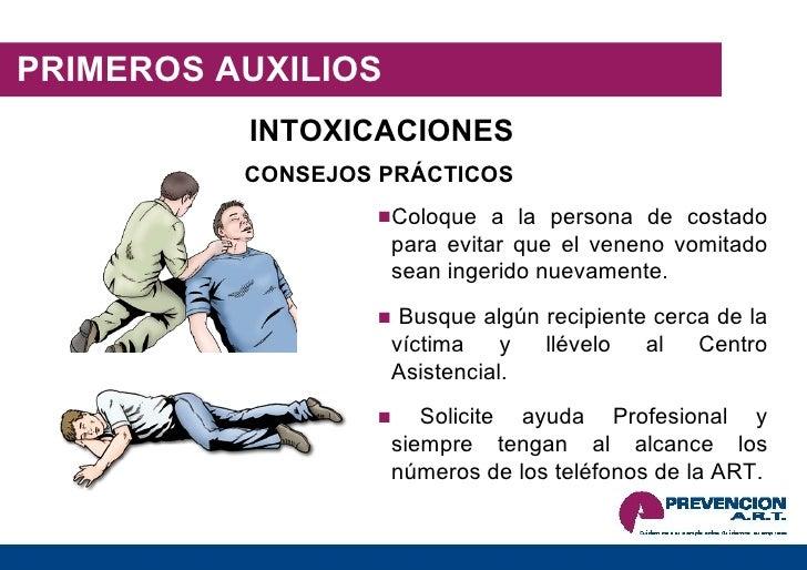 INTOXICACION PRIMEROS AUXILIOS PDF