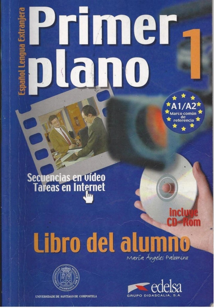Primer plano 1 libro del alumno- PDF