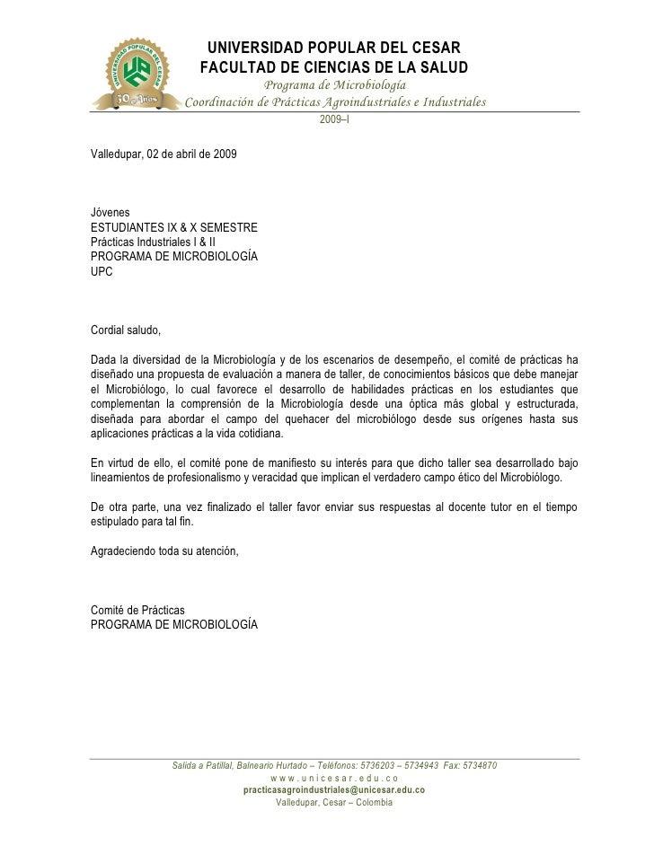UNIVERSIDAD POPULAR DEL CESAR                         FACULTAD DE CIENCIAS DE LA SALUD                                   P...