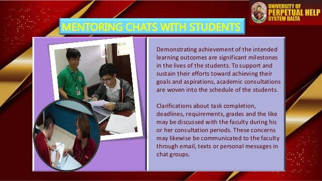 Demonstrating achievement of the intended learning outcomes are significant milestones in the lives of the students. To su...