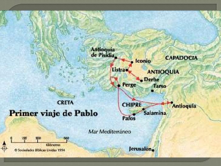 Primer viaje misionero de pablo for Cuarto viaje de san pablo
