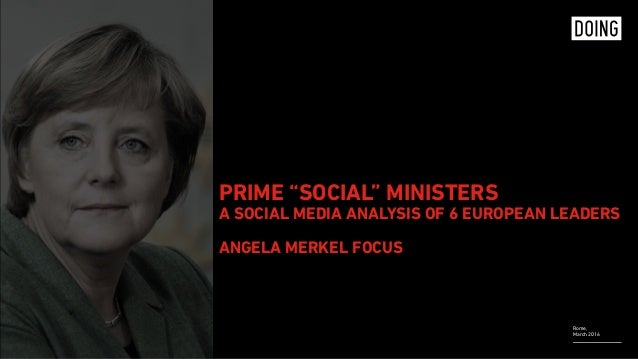 "Rome, March 2016 PRIME ""SOCIAL"" MINISTERS