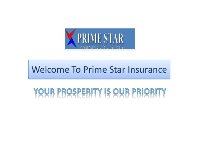Welcome To Prime Star Insurance