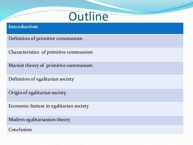 primitive economy definition