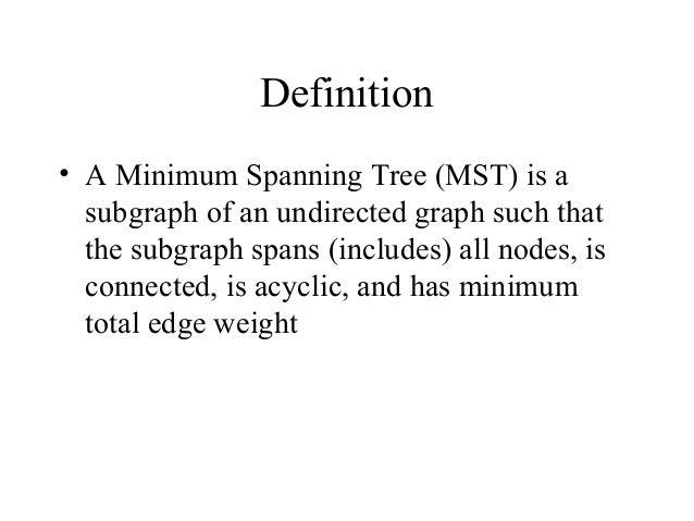 Prim Algorithm and kruskal algorithm Slide 2