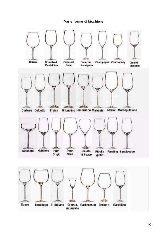 Posizione Bicchieri In Tavola.Strumenti Del Sommelier Ais 1 Livello