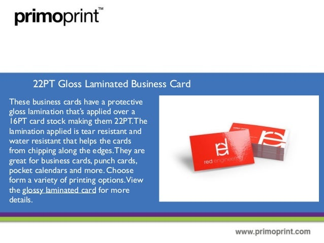 The different types of business cards 7 22pt gloss laminated business card colourmoves