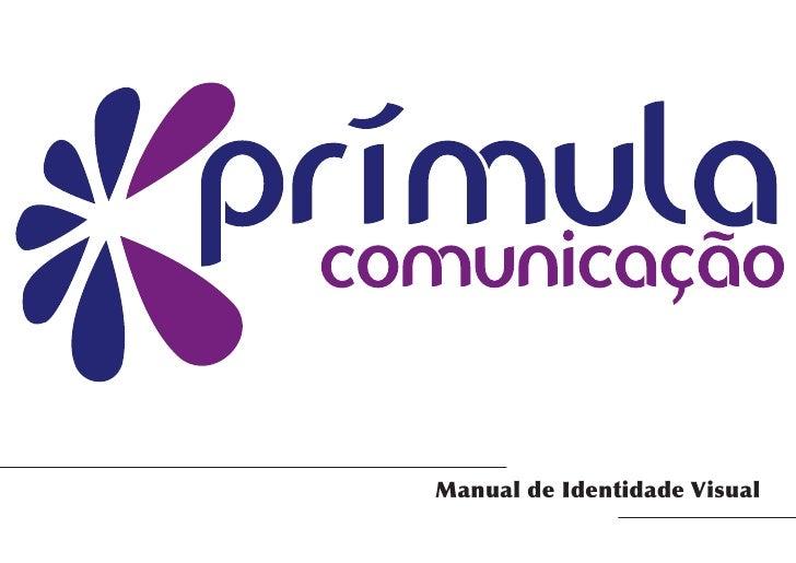 Primula Comunicacao - Manual de Identidade Visual