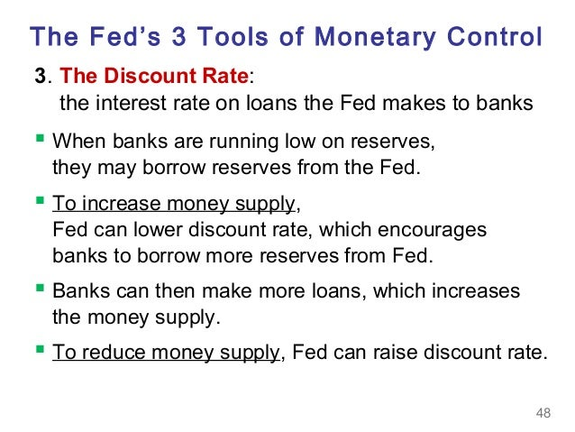 3 tools fed uses to control money supply Models and tools frb/us model  what is the money supply is it important  data on monetary aggregates are reported in the federal reserve's h3 statistical .