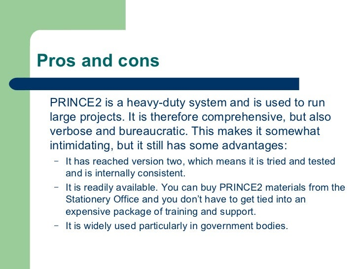 The Projects And Advantages Of Go4cork S Cork: Prince2