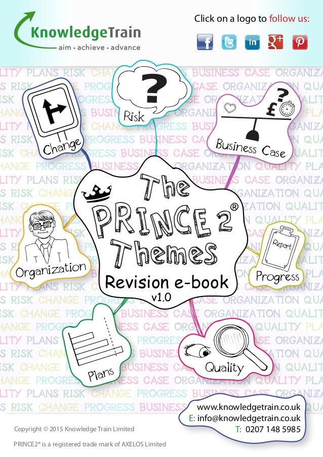 Master the prince2 themes a fun and handy revision ebook lity plans risk change progress business case organiza ns risk change progress business case organization qua 2 prince2 fandeluxe Choice Image