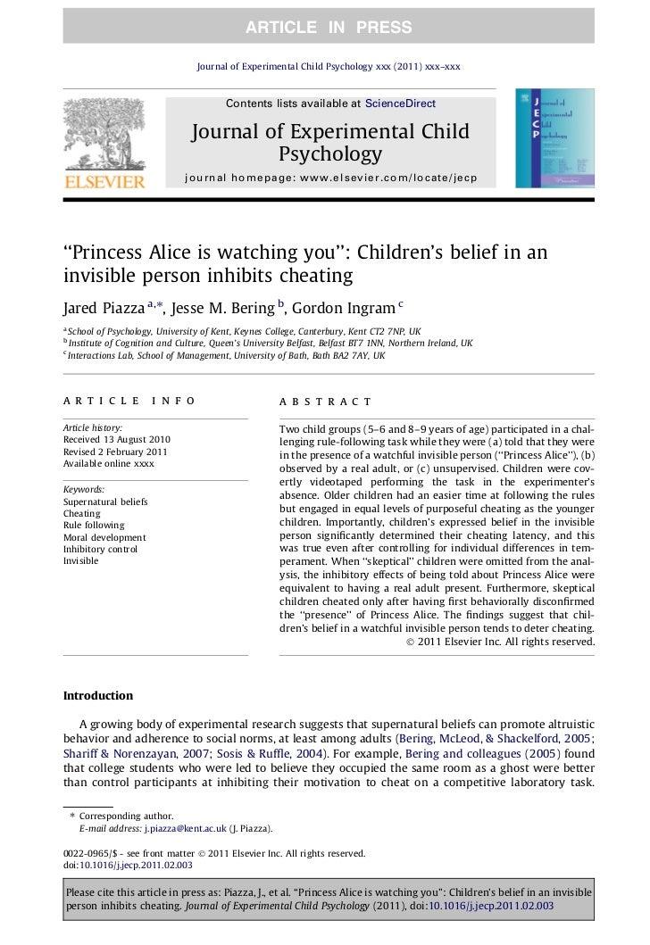 Journal of Experimental Child Psychology xxx (2011) xxx–xxx                                           Contents lists avail...