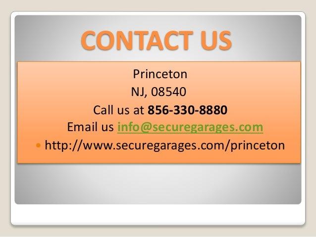 Garage Door Installation Princeton Http://www.securegarages.com/princeton;  8. CONTACT US Princeton NJ ...