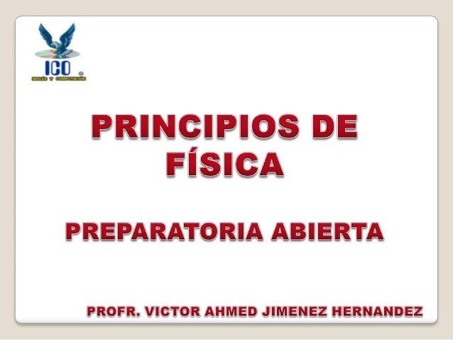 Principios de Física 01