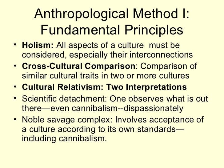 Princiiples of Scientific Method in Anthropology