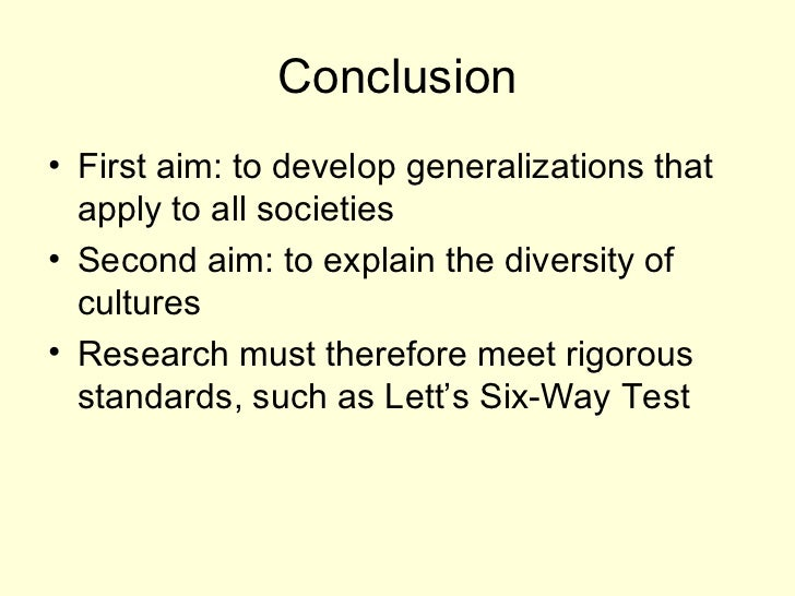 research method in anthropology What is research and why do we use this method what are the steps of the scientific process.