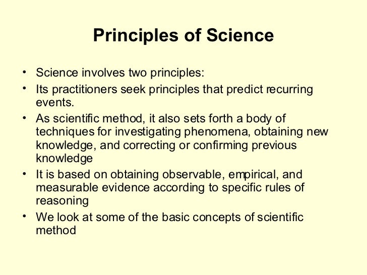 principles of hypothesis