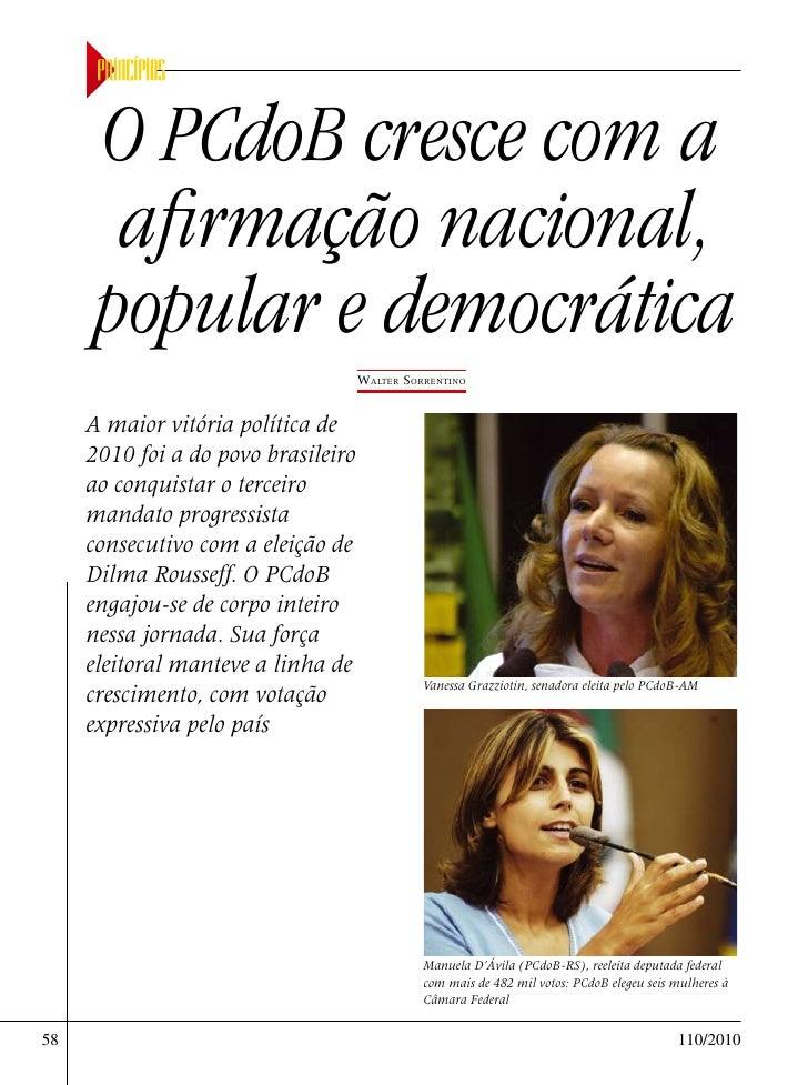 Revista Principios dezembro de 2010