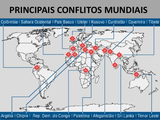 PRINCIPAIS CONFLITOS MUNDIAIS