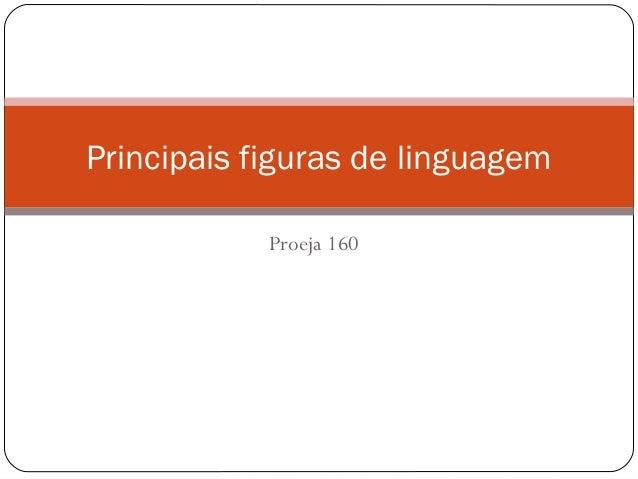 Proeja 160Principais figuras de linguagem